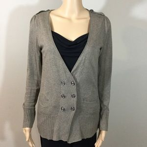 Rubbish Double Breasted Cardigan